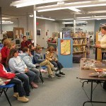 Canadian Children's author Karleen Bradford visits Virden