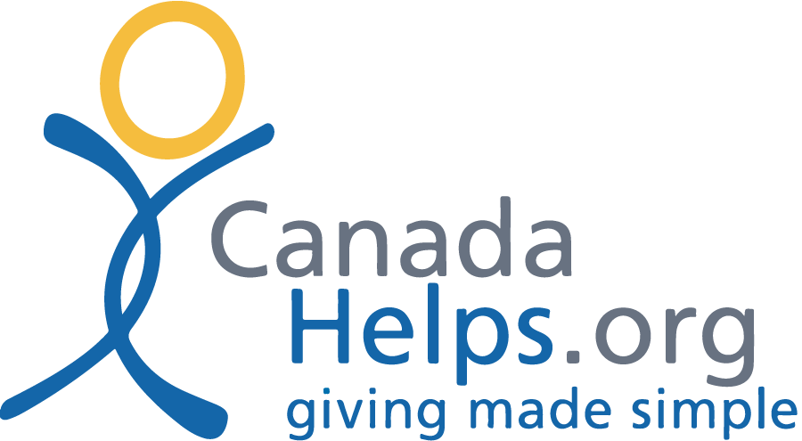 Canada Helps dot org logo